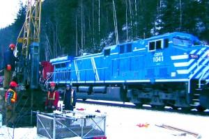 Kicking Horse Canyon - CP Rail